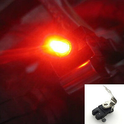 1pc Bicycle Red LED Brake light Outdoor Water resistant Cycling Hiking Safe