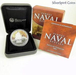 2011-FAMOUS-NAVAL-BATTLES-BATTLE-OF-TRAFALGAR-Silver-Proof-Coin