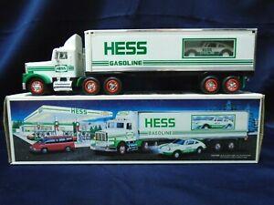 Hess Toy Truck 1992 18 Wheeler And Racer Ebay