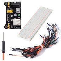 MB-102 830 Point PCB Breadboard Power Supply Module 3.3V 5V + Power Supply M2E5