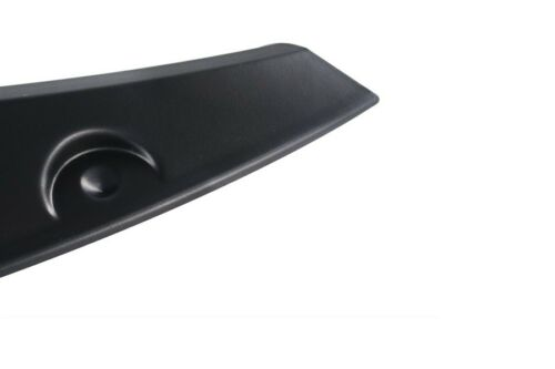 Llantas Tuning 2x radlauf barras guardabarros ensanchamiento negro para Fiat Panda