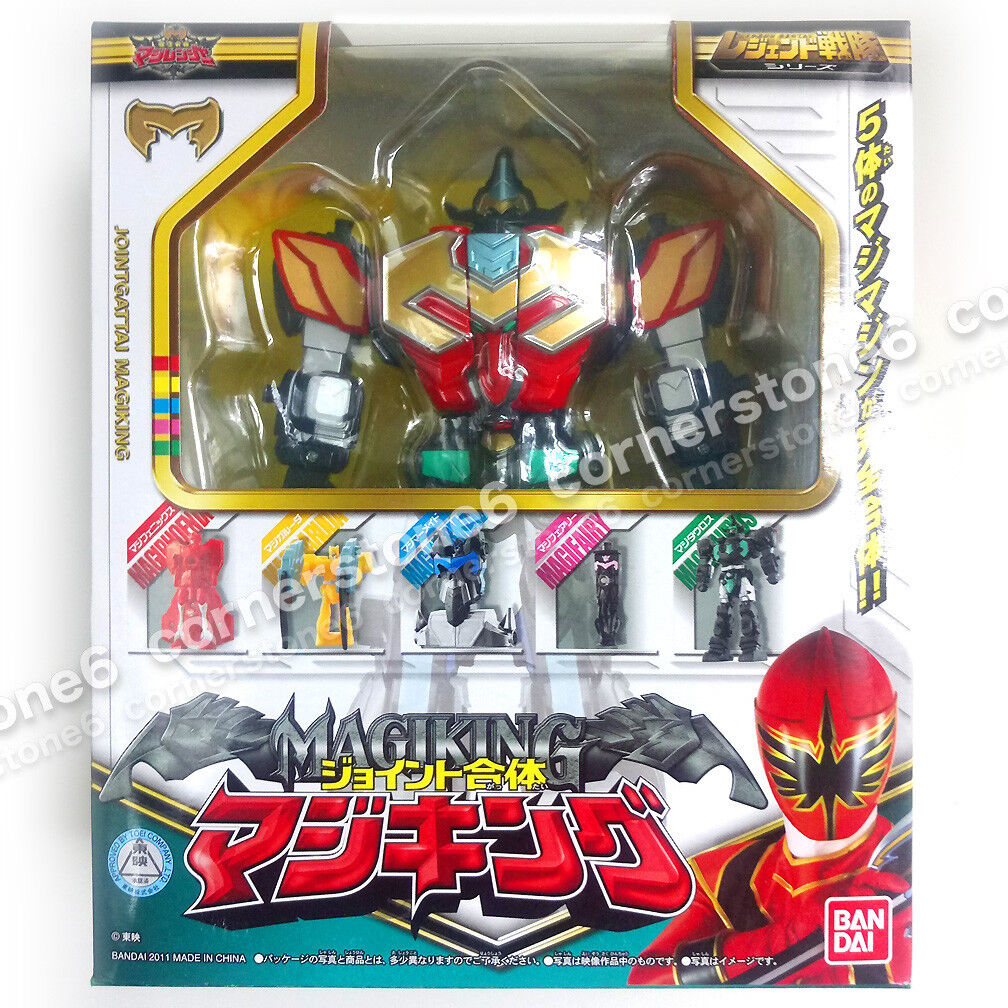 MAGIRANGER - Power Rangers Mystic Force - megazord - JOINT GATTAI - MAGI KING
