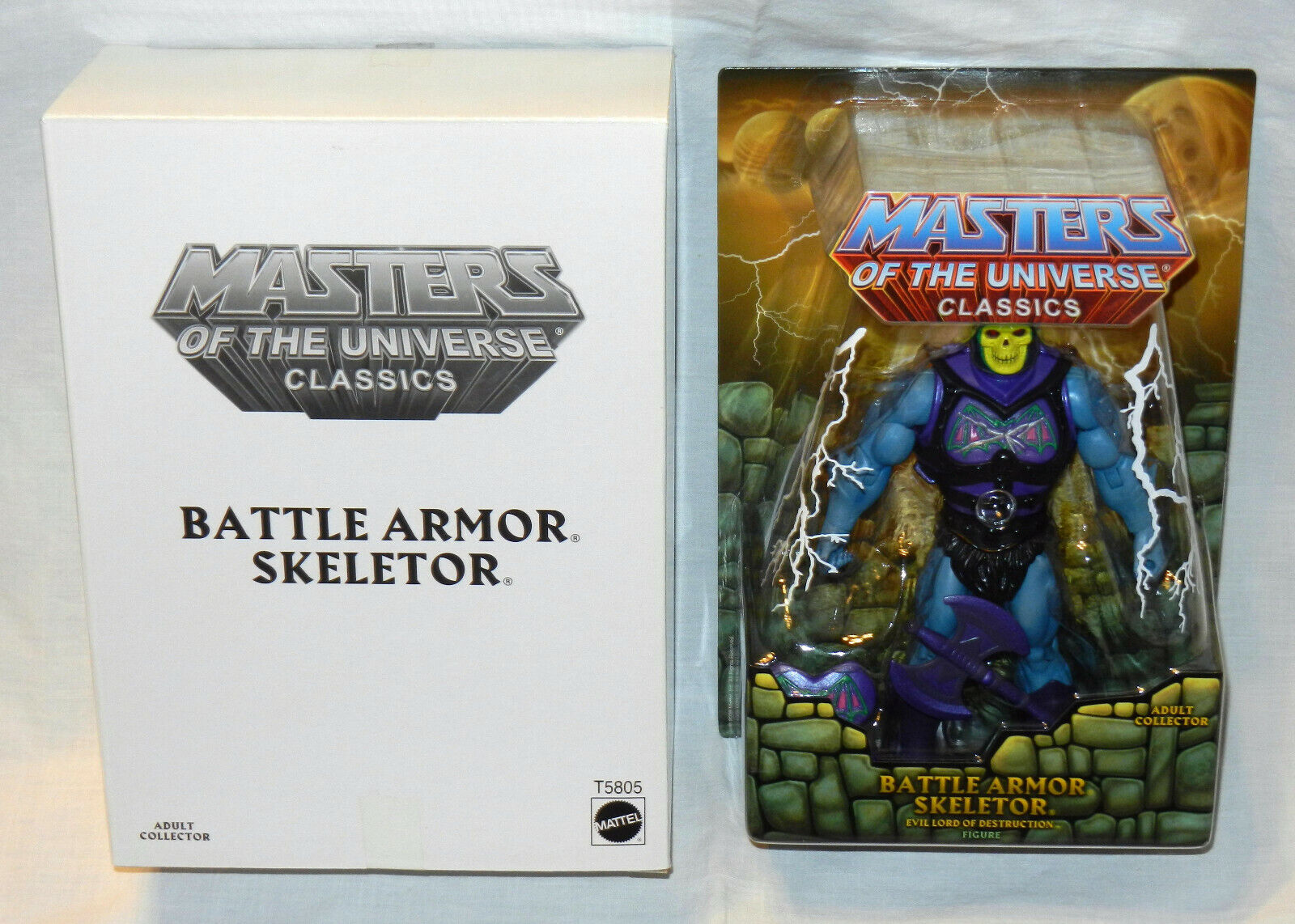 BATTLE ARMOR SKELETOR 1ST ISSUE cifra  MASTERS MASTERS MASTERS OF THE UNIVERSE CLASSICS  nuovo 011381