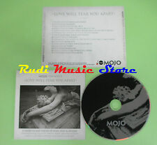 CD MOJO LOVE WILL TEAR YOU APART compilation PROMO 2008 SIMONE REID COCKER (C19)