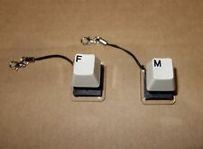 IBM Model F + M Buckling Spring - KEYCHAINS Clicky Keyboard Switch Tester AT XT