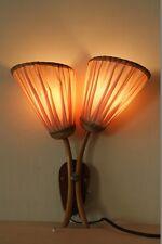 Alte Wandlampe, Lampe Kult Retro Design, 50er 60er Jahre Tütenlampe Vintage