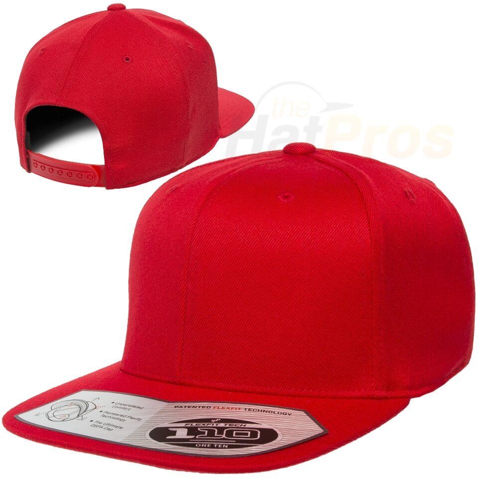 92886609d266f 6195P Flexfit Pinstripe Fitted Baseball Blank Plain Hat Ballcap Cap Flex Fit