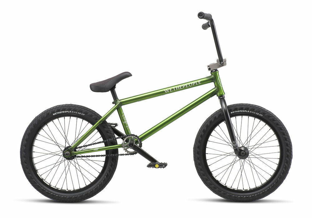 WE THE PEOPLE 2019 CRYSIS 21 TRANS OLIVE COMPLETE BMX BIKE 21  S&M 21 INCHES