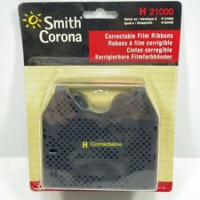 Smith Corona H Series 21000 Correctable Typewriter Ribbons 2 In Package New