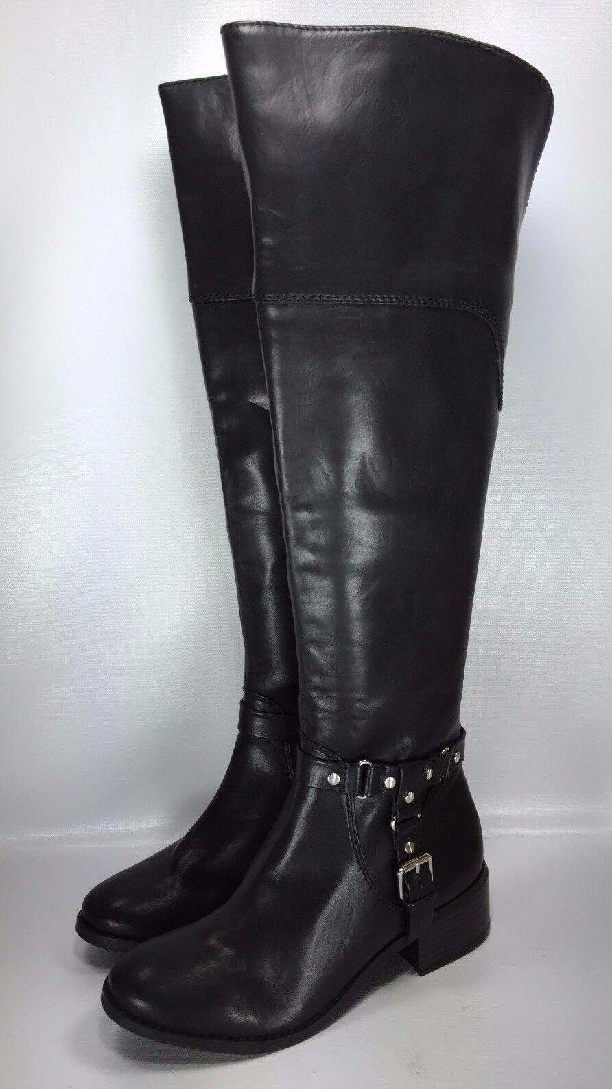 Dolce Vita Womens Black Coup Fashion Boots Shoe Size 7
