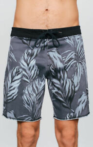 Afends-Shorts-Easyrider-Tropical-Grey-Skateboard-Surf-Beach-Boardshort