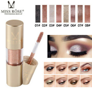 Metallic-Shiny-Glitter-Eyes-Eyeshadow-Waterproof-Glitter-Liquid-Eyeliner-Makeup