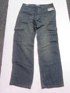 NEW-Calvin-Klein-Men-039-s-Blue-Cargo-Style-Jeans-Size-30x32-NWT-88