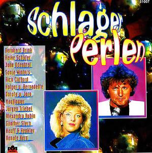 SCHLAGER-PERLEN-16-Tracks-CD-NEU-amp-OVP-Brink-Manuela-Hauf-amp-Henkler