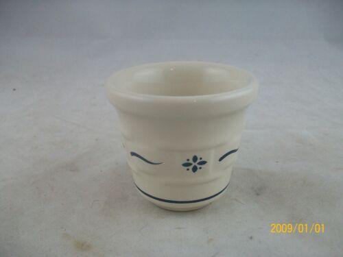 Longaberger Pottery Classic Blue Votive Cup