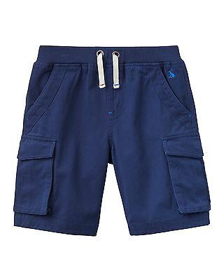 *BNWT* Joules Boys Bob Cargo Shorts Navy Blue Cotton Pockets Comfy Smart