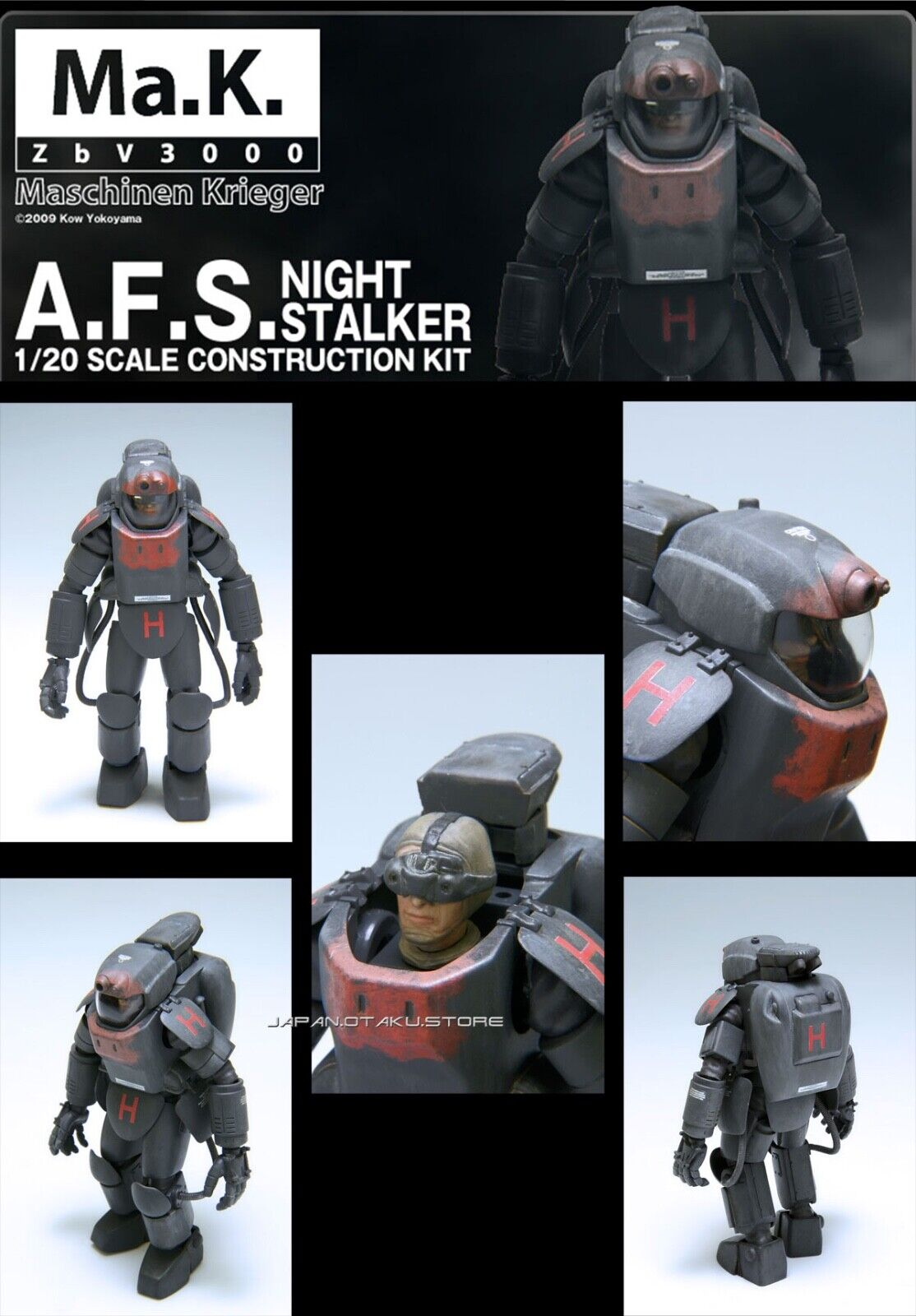 Wave 1 20 Ma.K. SF3D RECON AFS NIGHT NIGHT NIGHT STALKER MODEL KIT be5