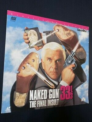 The Naked Gun 33 1/3: The Final Insult (DVD, 2000