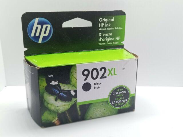 HP 902XL High-Yield Black Ink Cartridge (T6M14AN) - EXP 2022