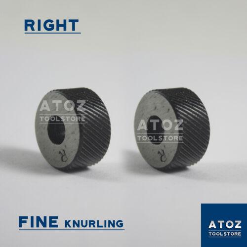 "Atoz Set of 2Pcs Right Fine Pitches High Quality Knurls 3//4/"" x 3//8/"" x 1//4/"""