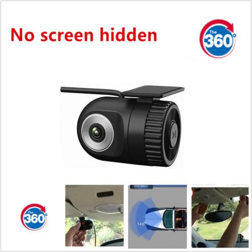 360° Car 1080PMini DVR 140° wide angle Hidden CameraVideoRecorderDashCam