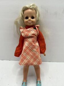 1969-Crissy-Doll-family-vintage-rare-blonde-hair-Green-Eyes-Ideal-Toy-Corp