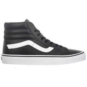 Vans-Sk8-Hi-Reissue-Shoes-Black-Sneaker-Men-Women-039-s-Trainers-NEW-azxsbnqr