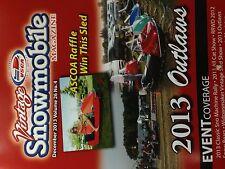 Vintage Snowmobile Magazine December 2013 Outlaws, Snow Bears, Eagle River