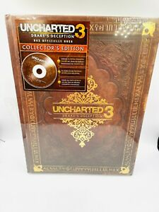 Uncharted 3 Drakes Schicksal  Collectors Edition Lösungsbuch ** NEU SEALED **