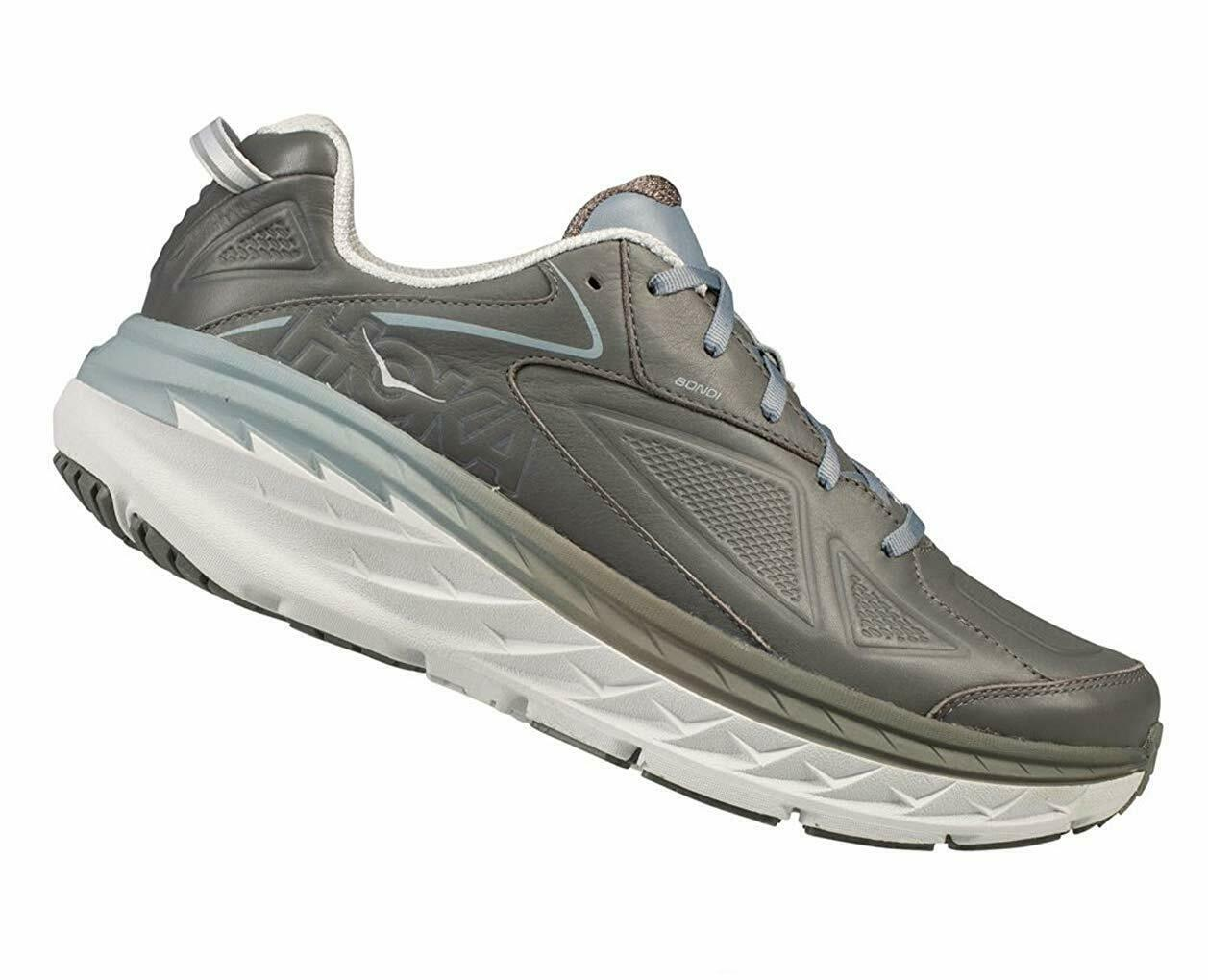 Hoka One One Men'S Bondi Ltr Wide Charcoal