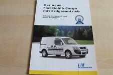 102609) Fiat Doblo Cargo Erdgas Prospekt 02/2006