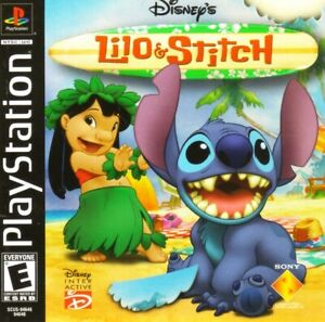 Lilo-amp-Stitch-PS1-Great-Condition-Fast-Shipping