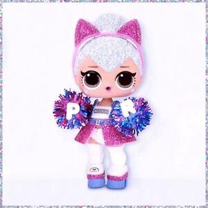 New Lol Surprise Kitty Queen Doll All Star Bb S Blue Cheer Team Gold Rare L O L 35051571780 Ebay
