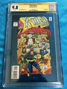 X-Men-2099-1-Marvel-CGC-SS-9-8-NM-MT-Signed-by-Ron-Lim