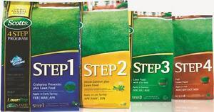 Image Is Loading Scotts 5m 4 Step Program Fertilizer Weed Control