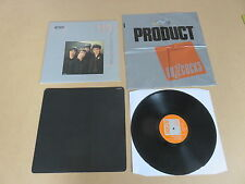 BUZZCOCKS Another Music In A Different Kitchen LP UK 1ST PRESSING & PRODUCT BAG