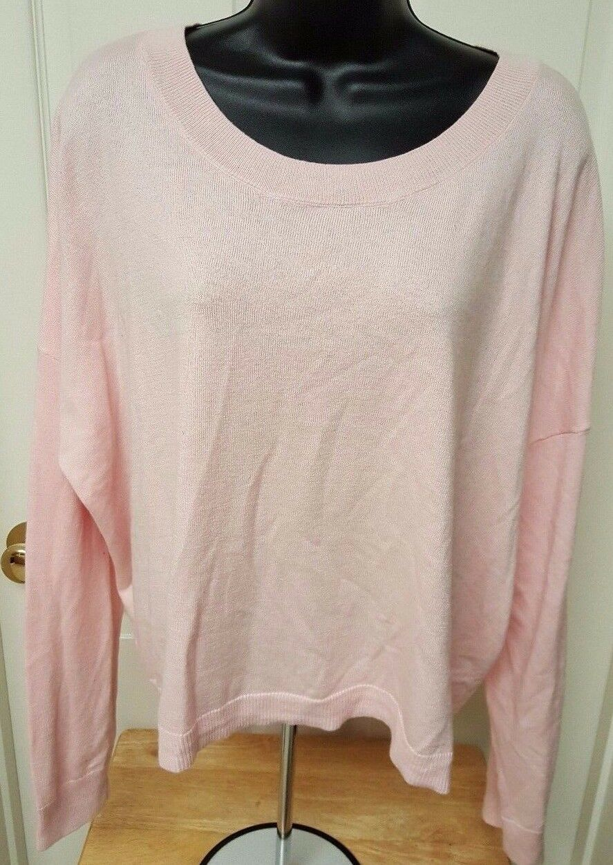 Gap NWT Womens Pink Sweater Top Size XXL