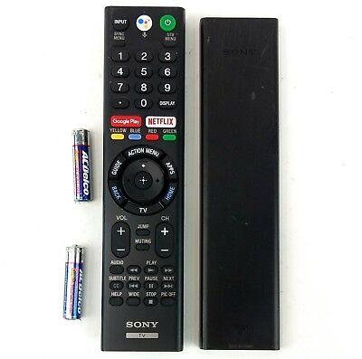 RMF-TX310U Sony TV Remote Control for Sony XBR-55X850F /& XBR-65X850F Smart TVs