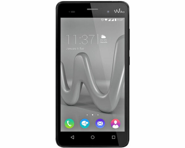 wiko lenny 3 dual sim 16gb schwarz 9631 g nstig kaufen. Black Bedroom Furniture Sets. Home Design Ideas