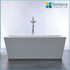 1500 mayfair freestanding bath tub bathtub square elegant bathroom new