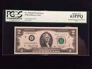 1976 2 dollar bill serial number