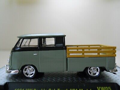 M2 MACHINES CASTLINE VW AUTO THENTICS 1959 VW DOUBLE CAB TRUCK USA MODEL WMTS07