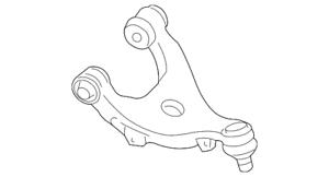 Genuine Subaru Upper Control Arm 20252AJ02A