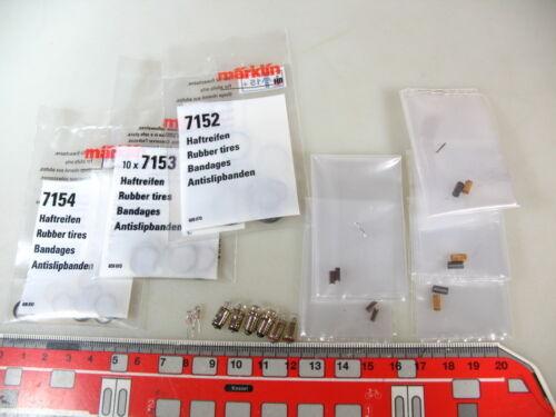 accesorios//piezas verschleißteileset para Märklin Spur h0 locomotoras #et5 Reemplazo de u