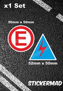 Race-Car-Electric-Cut-off-amp-Fire-Extinguisher-Sticker-Set-Rally-Preparation-5cm