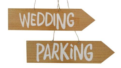 """Holzpfeil /""""Wedding/"""" Holzschild 42 cm lang 11 cm breit Hochzeit Dekoration"""