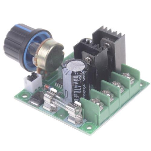 DC 12-40V 10A PWM Motor Drehzahlregelung Schalter Controller Volt Regler Dim ML