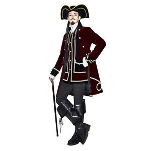 Brand New Steampunk Captain Adult Costume