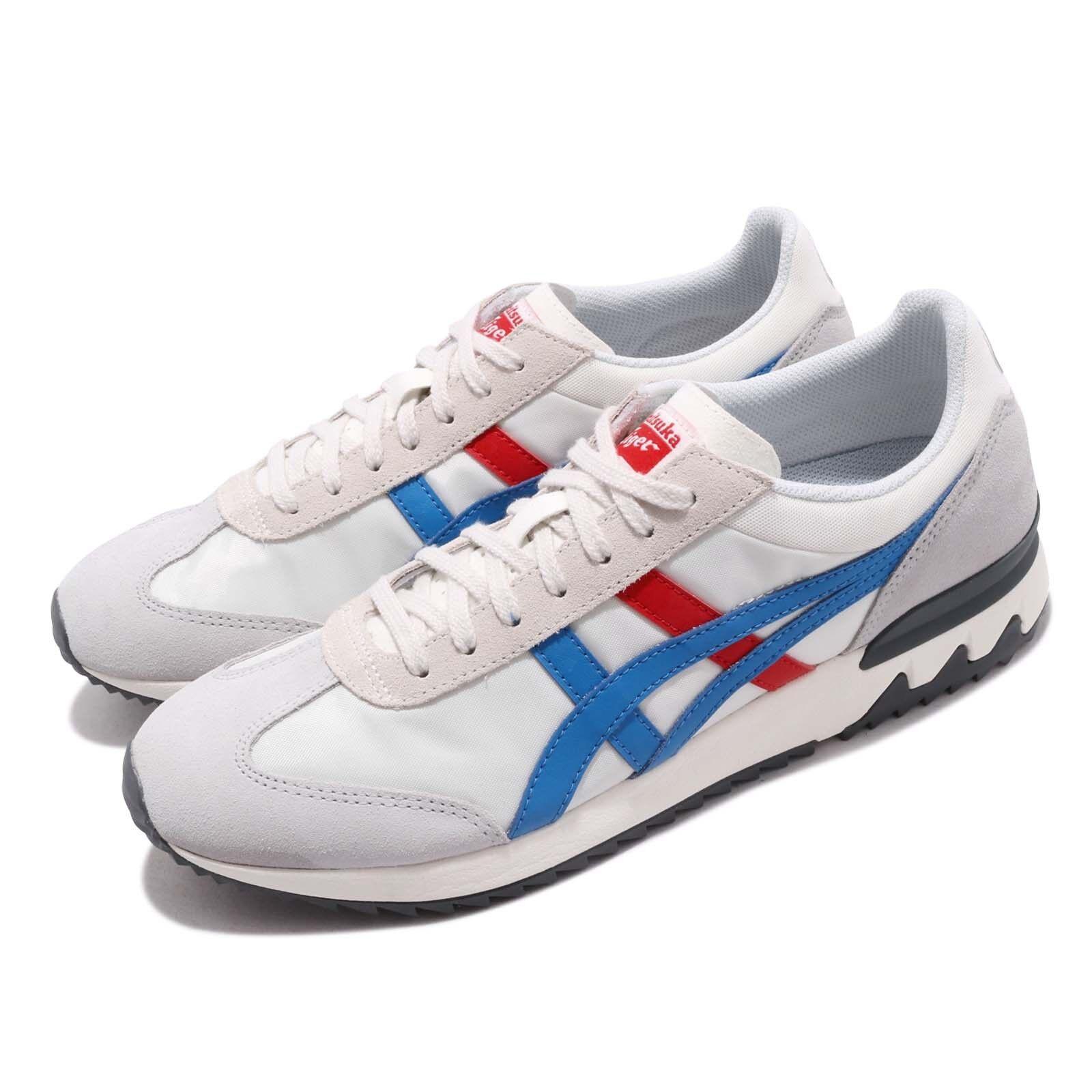 Asics Onitsuka Tiger California 78 EX Cream blueee Red Men shoes 1183A194-100