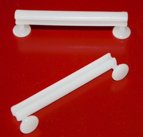 10 Schlaufengleiter 50 mm Gardinenhaken für Schlaufenvorhänge und Schals